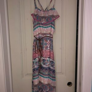 Xhilaration Girls Hi Lo Maxi Dress